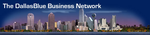The DallasBlue Business Network logo
